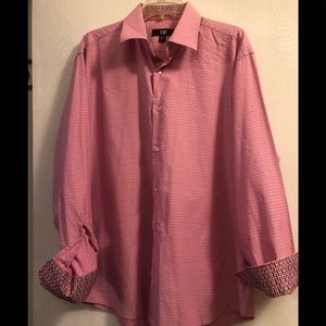 Dress shirt by XMI  in pink design